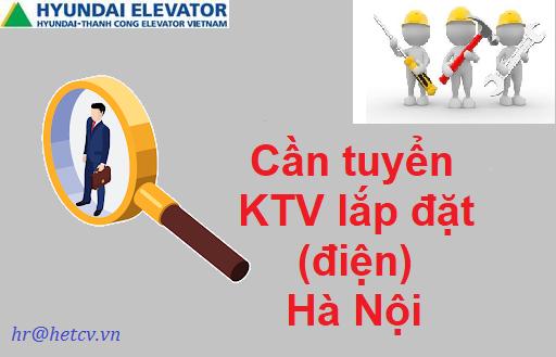 Tuyển dụng KTV lắp đặt tại Hà Nội