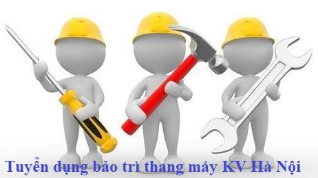 Tuyển KTV bảo trì thang máy tại Hà Nội