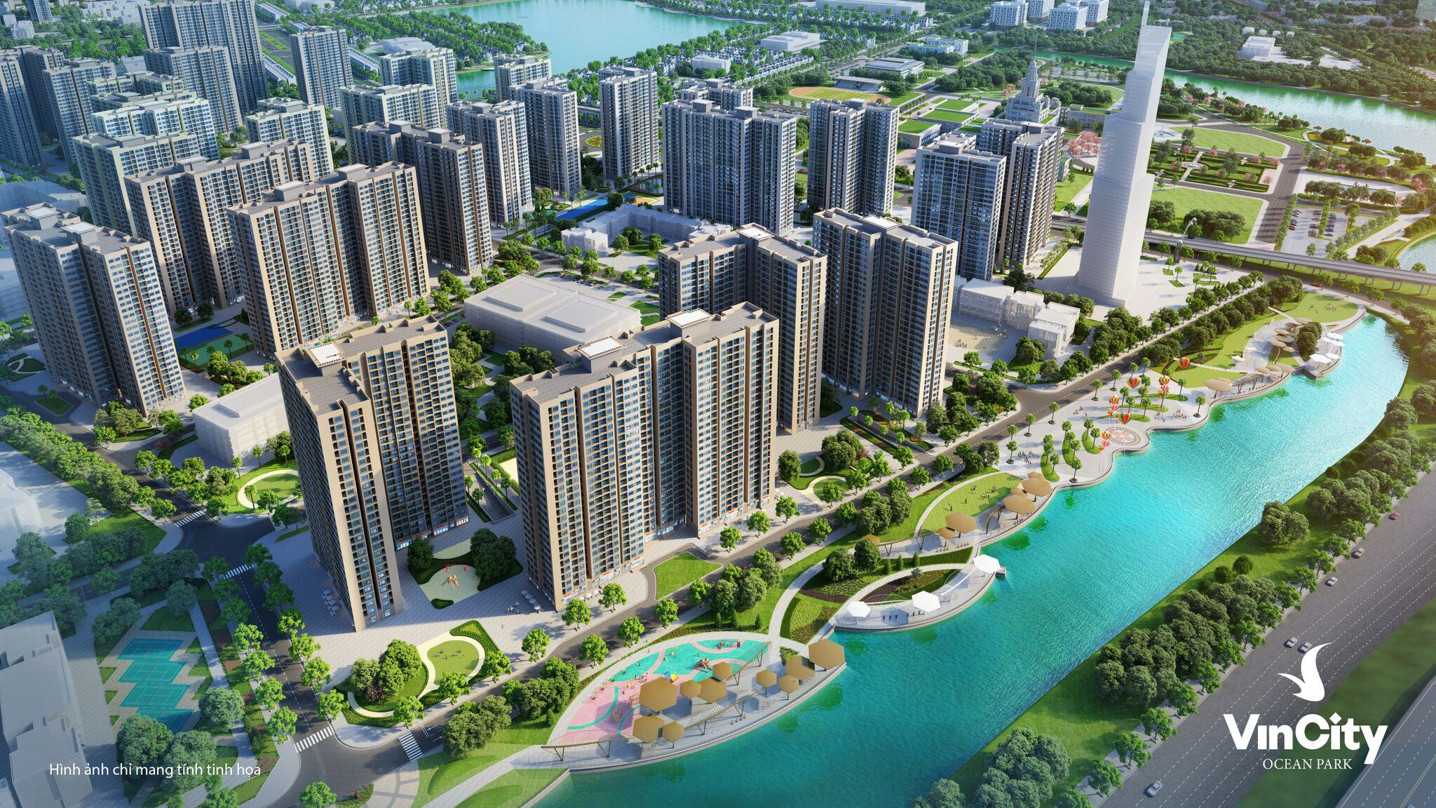 Trúng thầu dự án Vincity Ocean Park - khu đô thị hạng sang ở Hà nội